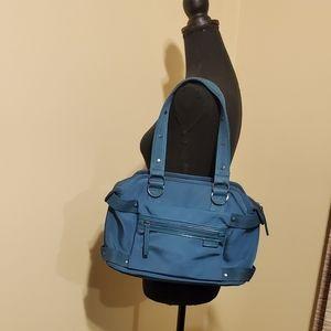 Kenneth Cole Reaction Blue Canvas Bag